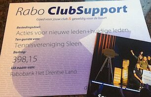 Opbrengst Rabo Club Support
